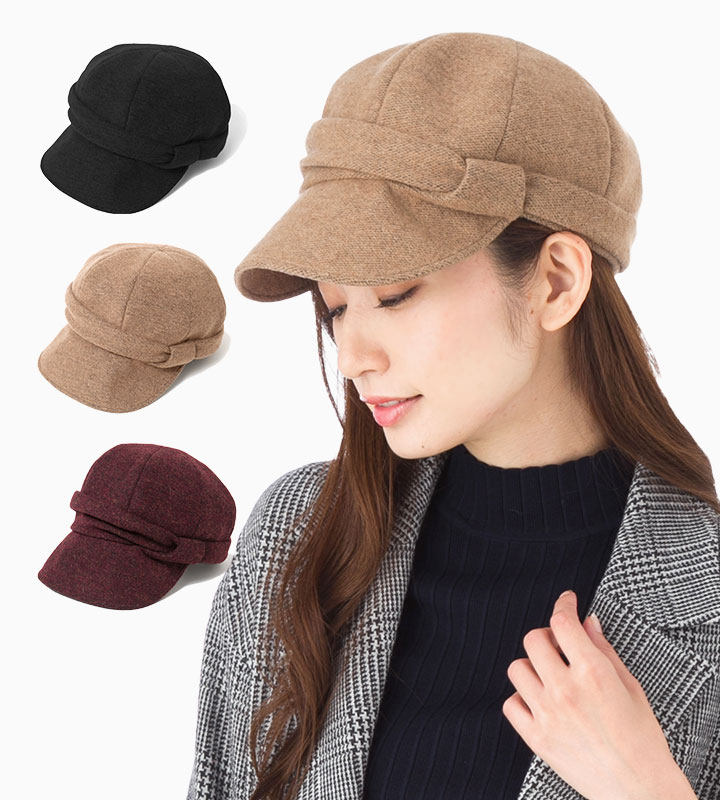 帽子 レディース キャスケット フェヌア FENUA TUBA-W 全3色 日本製 送料無料