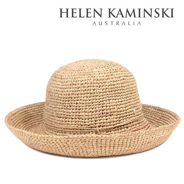 ヘレンカミンスキー 帽子 レディース 麦わら帽子 つば広 高級ラフィアのストローハット キャペリン HELEN KAMINSKI LOMBARDY 送料無料