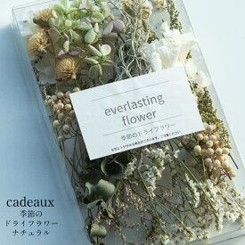 【送料無料/消費税込み価格】【flower gift】ドライフラワー詰め合わせ[ナチュラル]ハーバリウムやアロマキャンドル。サシェの花材にお花のキット