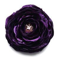 光沢ラナンキュラス【紫】個性的に花飾りしたい方へ【卒業式】【入学式】【結婚式】【パーティー】【成人式】定形外郵便なら送料無料