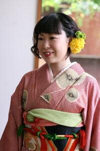 パステルフラワー【卒業式】【入学式】袴スタイルに使える髪飾り【パーティー】【フォーマル】使いやすいサイズ感