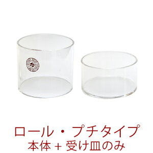 手作り石鹸用アクリルモールド ロール・プチタイプセット [押出板無し] 【2007mold】