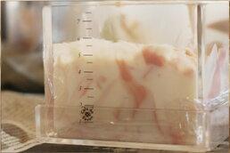 手作り石鹸用アクリルモールドミルク・ハーフタイプセット(押出板付)【ソープモールド・石鹸型】【あす楽対応_関東】【あす楽対応_本州・四国】