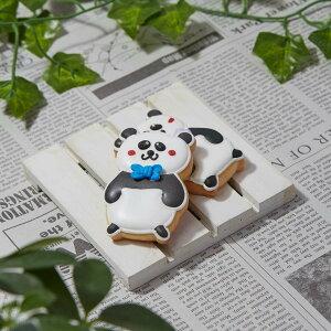 【パンダ】動物 ペット カワイイ アイシングクッキー プチギフト かわいい お菓子