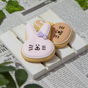 【ウサギ大】動物 ペット カワイイ アイシングクッキー プチギフト かわいい お菓子