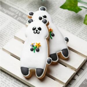 【立ちパンダ】動物 カワイイ アイシングクッキー プチギフト かわいい お菓子 アニマル