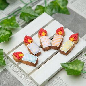 ケーキデコレーション用 【ケーキデコ用ローソク5個入】アイシングクッキー クッキー デコレーションケーキ オリジナルケーキ 誕生日 バースデー ケーキ かわいい お菓子