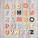 ケーキデコレーション用 【アルファベットクッキー】アイシングクッキー クッキー アルファベット イニシャル デコレ…