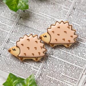 【ハリネズミ】動物 ペット はりねずみ カワイイ アイシングクッキー プチギフト かわいい お菓子