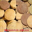 大好評1,000円お試し!コリコリ食感豆乳おからクッキーとホロホロ食感のおから100%クッキー2種のおからクッキーお試し…