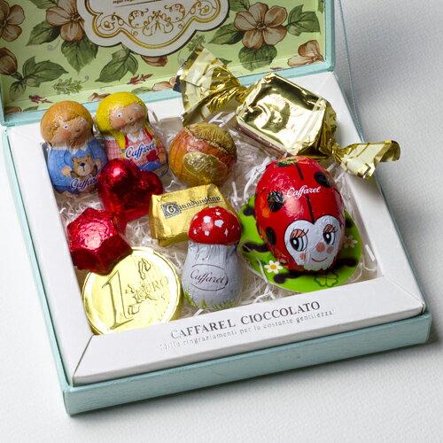 【Caffarel カファレル】オリジナルギフト(ピッコラ)2017 ※小サイズ チョコレート チョコレート、イタリア、トリノ、カファレル、イタリア、老舗、プランドチョコ、ジャンドゥーヤ