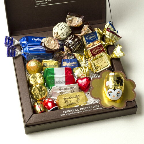 【Caffarel カファレル】オリジナルギフト(グランデ) チョコレート チョコレート、イタリア、トリノ、カファレル、イタリア、老舗、プランドチョコ、ジャンドゥーヤ