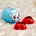 【Caffarel カファレル】 ねことミニハートチョコレートセット【バレンタイン プチギフト イタリア ジャンドゥーヤ 老舗チョコレートブランド】