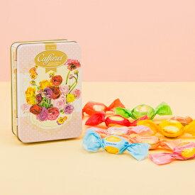 【公式 Caffarel カファレル】 ラナンキュラス缶 【ホワイトデー キャンディ イタリア チョコレートブランド】