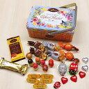 ※送料無料※【公式 カファレル】チョコレート バスケット【お中元 ご褒美 ギフト アンティーク缶 ジャンドゥー…