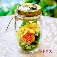 FlowerMasonJarフラワーメイソンジャーシトラス