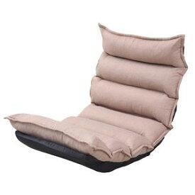 ★ポイントUp4.5倍★座椅子 もこもこフロアチェア ソファベッド ロータイプ 1人掛け フロアソファ リクライニングチェア 国産 日本製【代引不可】[18]
