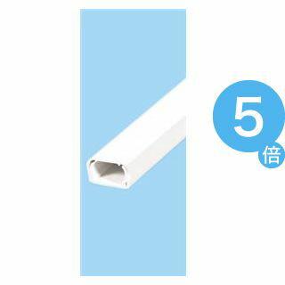 ★ポイントUp5倍★(業務用セット) ELPA ABSモール ホワイト 1号 1m 1ゴウ ホワイト 【×30セット】[21]