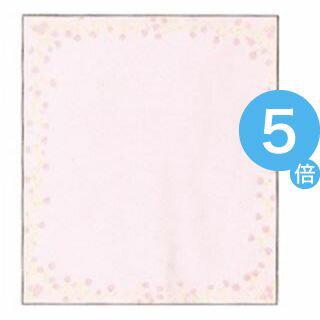 ★ポイントUp5倍★(業務用200セット) ミドリ 色紙 33122006 小花柄ピンク[21]