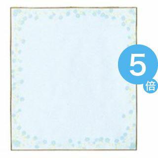 ★ポイントUp5倍★(業務用200セット) ミドリ 色紙 33123006 小花柄ブルー[21]