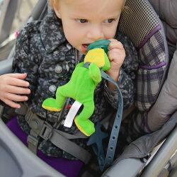 おもちゃストラップベビーカーおもちゃホルダーリルサイドキック赤ちゃんマグオモチャトイホルダー落下防止ベビーグッズトイストラップ多機能マルチストラップハイチェアLil'Sidekick