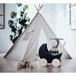 キッズテントおしゃれテント子供用テントティピーオーノープレイテント北欧キッズテントハウス室内室外兼用アウトドアおもちゃままごと誕生日クリスマスプレゼントナチュラルoohnooplaytent