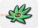 スマイルヘンプ(L)/大麻/ニコちゃん/にこちゃん/ラスタ/レゲエ/ヒップホップ/大人/かっこいい/ハンドメイド/雑貨/刺繍…
