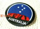 AUSTRALIA.星空/オーストラリア/アウトドア/天体/旅行/ロゴ/文字/大人/おしゃれ/ハンドメイド/雑貨/刺繍ワッペン/アイロン接着/リメイ…