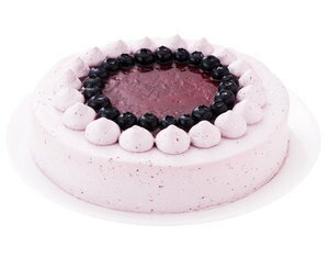 誕生日ケーキバースデーケーキブルーベリーケーキ7号21.0cm約580g選べるホールorカット送料無料(※一部地域除く)