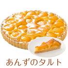 (半額/楽天スーパーセール)誕生日ケーキバースデーケーキあんずのタルトケーキ7号21.0cm約730g選べるホールorカット送料無料(※一部地域除く)