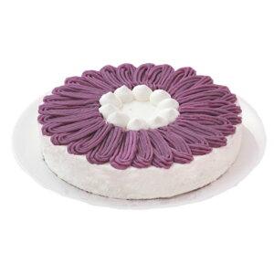 誕生日ケーキバースデーケーキ紫いものケーキ7号21.0cm約820g選べるホールorカット送料無料