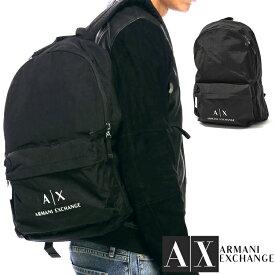 ARMANI EXCHANGE アルマーニ エクスチェンジ バックパック ブラック リュック FREE ONE SIZE おしゃれ ブランド 大きいサイズ 【あす楽】 [952103cc511]