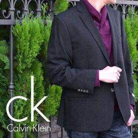 Calvin Klein カルバンクライン メンズ 2ボタン ブレザー ジャケット(2色展開)(Men's Mavin Blazer)7WX0001[ネイビーブラック][紺ブレザー フォーマルウェア 黒ブレザー ck]大きいサイズ[送料無料]ブランド 春秋冬