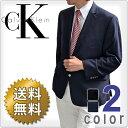 CalvinKlein カルバンクライン メンズ 2ボタン ブレザー ジャケット(2色展開)(Men's Mavin Blazer)7WX0001[ネイビーブラック][紺ブレザー フォーマルウェア 黒