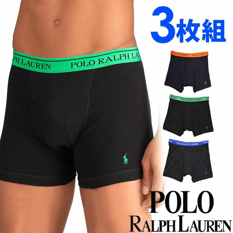 POLO RALPH LAUREN ポロ ラルフローレン メンズ ボクサーパンツ3枚セット オレンジ グリーン ブルー トランクス S M L XL おしゃれ ブランド 大きいサイズ 【あす楽】 [rcb2h3]