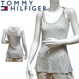 TOMMY HILFIGER DENIM トミーヒルフィガー デニム レディース タンクトップ ワンピース チュニック グレー[XS/S/M/L/XL][ヨーロッパ仕様][1653520505][大きいサイズ]ブランド[5,400円以上で送料無料]