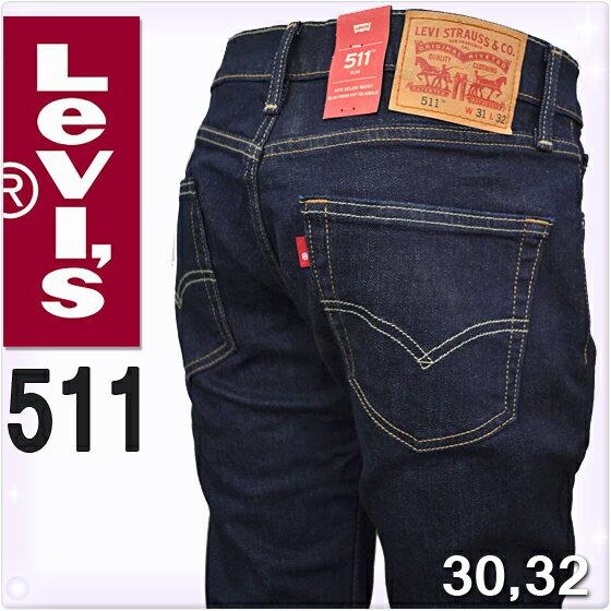 Levis Levi's[リーバイス リーヴァイス]511 ジップフライ スリムフィット ジーンズ[04511-1042]ジーパン インディゴ スキニー リーヴァイス Levi's [送料無料]大きいサイズ ブランド メンズ[本国仕様 アメリカモデル]