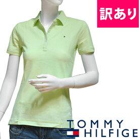 【訳あり/シミあり/XS/M】TOMMY HILFIGER トミーヒルフィガー レディース ポロシャツ ミント色 (XS/M)サイズ レギュラーフィット [5,500円以上で送料無料] [outlet-1m50236034]