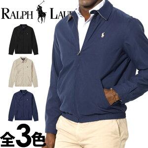 POLO RALPH LAUREN ポロ ラルフローレン ウインドブレーカー フルジップ ジャケット スイングトップ ブルゾン 3色展開[S/M/L/XL/XXL][アウター 上着 ジャンパー] 大きいサイズ ブランド [5,500円以上で