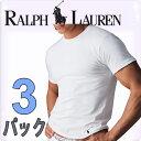 POLO RALPH LAUREN ポロ ラルフローレン tシャツ メンズ クルーネック 3枚セット ラルフローレンTシャツ ラルフtシャツ[LCCN]