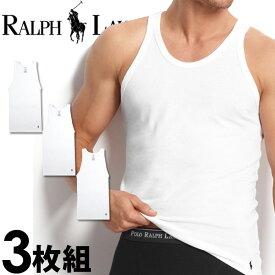 POLO RALPH LAUREN ポロ ラルフローレン メンズ タンクトップ 3枚セット ラルフローレンタンクトップ クラシックフィット[RCTKP3 /LCTK]