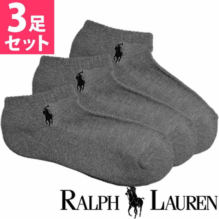 POLO RALPH LAUREN ポロ ラルフローレン 靴下 レディース 3足セット [7370PKSGYH]【楽ギフ_包装】