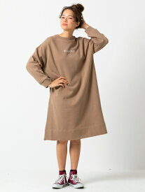 MILKFED.(ミルクフェド)LINE HEART SWEAT DRESS