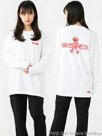【公式】MILKFED.(ミルクフェド)MILKFED. x SESAME STREET LS TEE ELMO