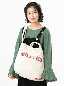【公式】MILKFED.(ミルクフェド)【定番】STENCIL BASIC SHOULDER BAG