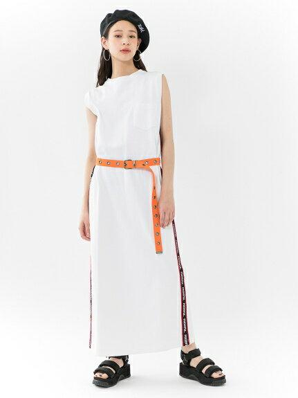 X-girl(エックスガール)LOGO LINE DRESS
