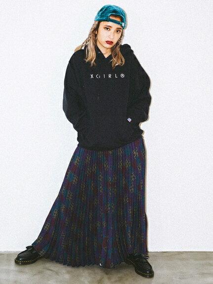 X-girl(エックスガール)NEW YANGSTA PLEATS PANTS