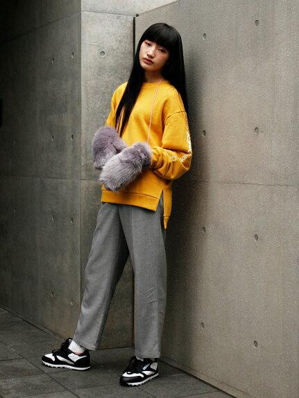 X-girl(エックスガール)PVC POCKET TROUSER