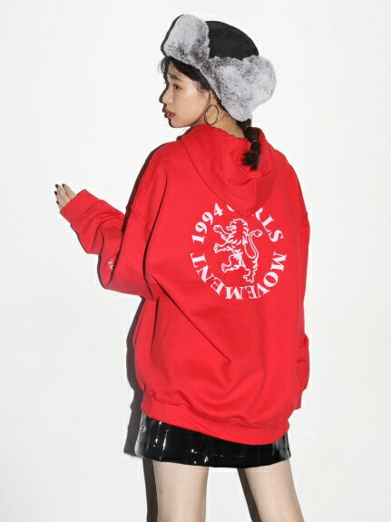 X-girl(エックスガール)EMBLEM SWEAT HOODIE