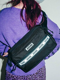 X-girl(エックスガール)X-GIRL X NEWERA SQUARE WAIST BAG
